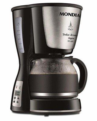 Cafeteira Elétrica Mondial Dolce Arome Digital Preto 220v - C31