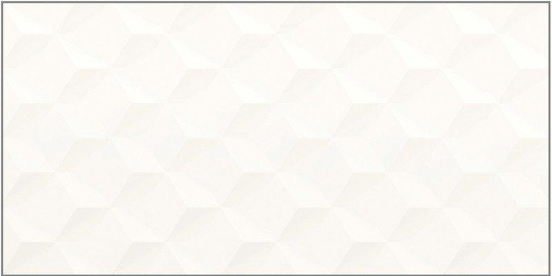 Revestimento Charm Cubic Wh Matte 29,1X58,4 Cm Portinari